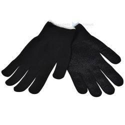 Mustad nailonist sõrmikud peopesal mikrotäpid nr. 10