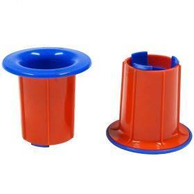 Plastikust käsihoidikud 50mm hülsi diameetriga pakkekilele, komplektis 2tk