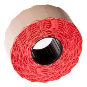 Punane Blitz-Meto hinnapüstoli etikett 26x16mm, rullis 1000tk