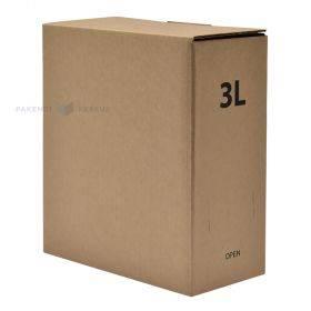 Lainepappkarp bag-in-box kottidele 202x102x230mm 3L
