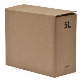 Lainepappkarp bag-in-box kottidele 260x110x210mm 5L