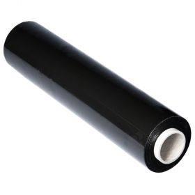 Must käsipakkekile Stretch laiusega 50cm paksusega 17mic