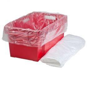 Läbipaistev kilekott toiduainekastile 60+(2x20)x75cm, pakis 100tk