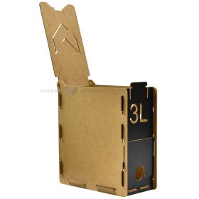 Puidust karp bag-in-boxile 205x105x240mm 3L