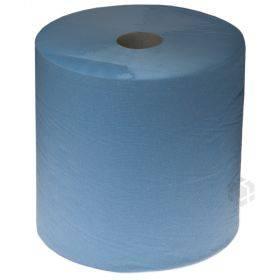 2-kihiline paberkäterätik Euro sinine 25cm lai, rullis 380m