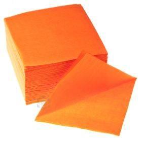 1-kihiline oranz salvrätik 24x24cm, pakis 400tk