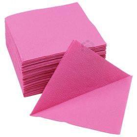 1-kihiline roosa salvrätik 24x24cm, pakis 400tk