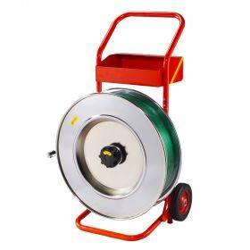 Käru PP-, PET- ja metallist pakkelindile sisediameeter 406mm