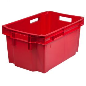 Punane plastik Laokast max 52L / 25kg