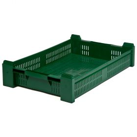 Roheline plastikkast Mini-Perfo max 19L / 12kg