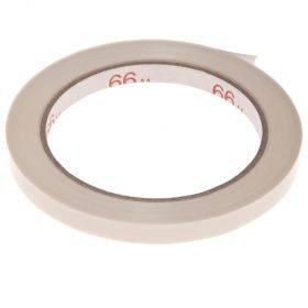 Valge pakketeip koti sulgemise seadmele 9mm, rullis 66m
