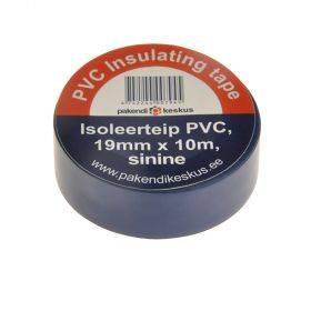 Sinine PVC isoleerteip 19mm lai, rullis 10m