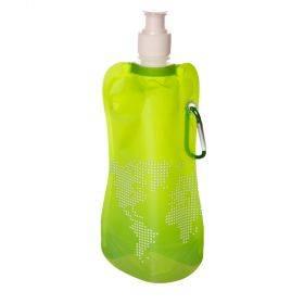 Kokkuvolditav roheline joogipudel ''Maailm'' 450ml