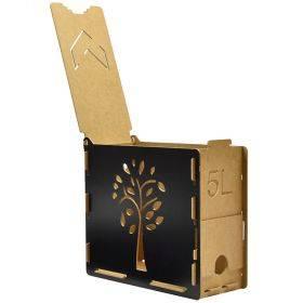 Puidust karp bag-in-boxile 270x115x240mm 5L