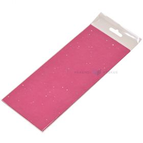 Glitter roosa siidipaber 50x75cm 14g/m2, pakis 3tk