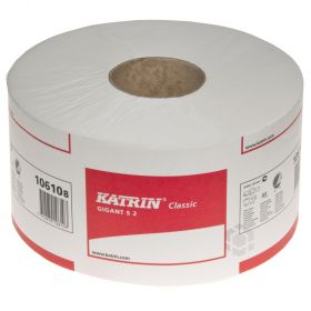 2-kihiline tualettpaber Katrin Gigant S 2 10cm lai, rullis 200m