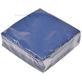3-kihiline sinine salvrätik 33x33cm, pakis 50tk