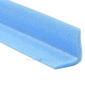 Sinine NMC-foamist nurgakaitse L-profiil 45x45mm pikkusega 2m