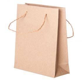 Spiraal pabersangaga krepp paberkott 16+6x18cm