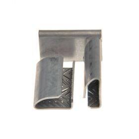 Metallist lukk ehk klamber 16mm laiale PP- ja PET-pakkelindile, karbis 1000tk