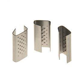 Metallist lukk ehk klamber kuni 13mm laiale PP-pakkelindile, karbis 1000tk