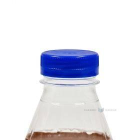 Sinine kork 330, 500, 1000, 1500ml PET-plastikpudelile diameetriga 38mm