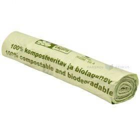 Komposteeritavad ja biolagunevad kotid 240L, rullis 10tk