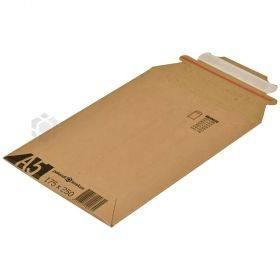 Pruun lainepapist postiümbrik 17,5x25cm A5